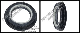 F-00023 (Side oil seal) Power steering oil seal 24,97*37,54/41,24*4,2/7,4 ACURA, FORD, HONDA, MAZDA, NISSAN, VOLVO