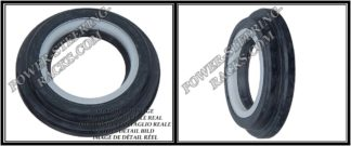F-00034 (Side oil seal) Power steering oil seal 23*34,2/40*3,2/7,5 (6V2) ALFA ROMEO, KIA, SEAT,SKODA,VW