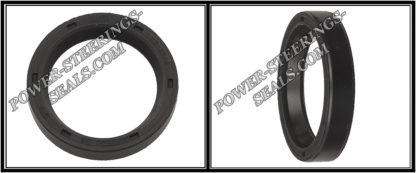 F-00064 Power steering oil seal,Sello de aceite de la dirección asistida,Dichtring (Wellendichtring) Lenkgetriebe,Joint d'huile pour crémaillère de direction,Paraolio per la cremagliera dello sterzo 25*33*6 (0M)