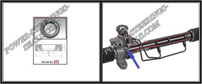 F-00204 Bague d'étanchéité (Joint d'huile) pour crémaillère de direction TOYOTA CAMRY 28*41*6,5 (0M)