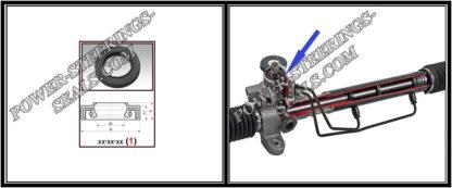 F-00279 Wellendichtring Lenkgetriebe HONDA ACCORD IV 15*36*5,5/9,5 (1PM)