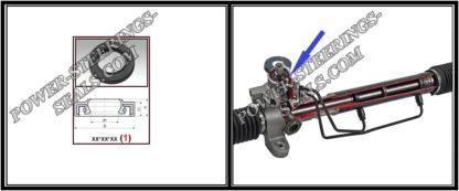 F-00516 Bague d'étanchéité (Joint d'huile) pour crémaillère de direction 20,5*34,2*7/7,5