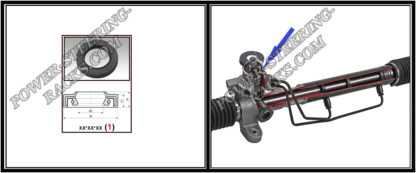 F-00561 Power steering oil seal 19,05 34,6 6,2 7,5 (1PM)