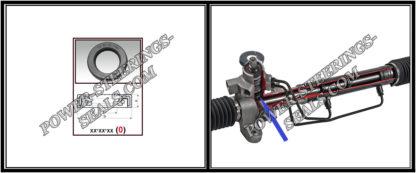 F-00811 Dichtring, Wellendichtring Lenkgetriebe INFINITI, NISSAN MAXIMA, NISSAN X-TRAIL 27x38x6,5