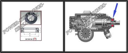 Dichtring Lenkgetriebe LDV MAXUS 32*50*9 (7V1)