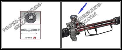 Staubkappe des Lenkgetriebes (oben) NISSAN QASHQAI I 16,7*60.8*30