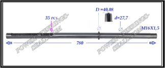 034.PS26 Rack (steering rack shaft) AUDI A4 II