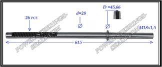 094.PS35 Rack (steering rack shaft) BMW 5 E39
