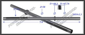 094.PS55 Rack (steering rack shaft) BMW X5 E53