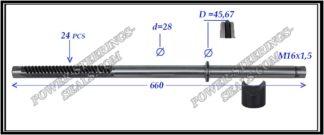444.PS21 Rack (steering rack shaft) MERCEDES E-CLASS W210