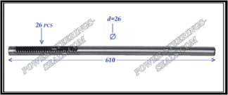 464.PS01 Electric steering rack shaft MITSUBISHI LANCER X