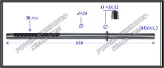 464.PS27 Rack (steering rack shaft) MITSUBISHI LANCER IX