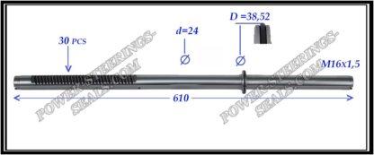 464.PS27 Rack (steering rack shaft) MITSUBISHI LANCER IX