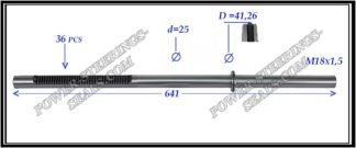 484.PS29 Rack (steering rack shaft) NISSAN PRIMERA P12