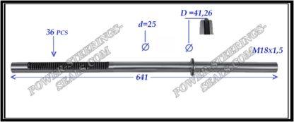 484.PS29 Rack (steering rack shaft) NISSAN PRIMERA P12