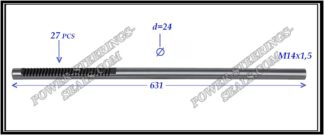 554.PS55 Electric steering rack shaft RENAULT MEGANE II, RENAULT SCENIC II