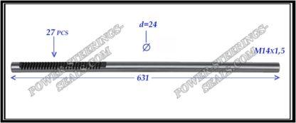 554.PS55 Electric steering rack shaft RENAULT MEGANE II, RENAULT SCENIC II