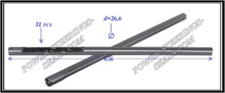 654.PS03 Electric steering rack shaft SUBARU LEGACY V, SUBARU OUTBACK IV