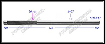 {:en}674.PS06 Electric steering rack shaft TOYOTA HIGHLANDER II