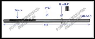 674.PS17 Rack (steering rack shaft) LEXUS ES, TOYOTA CAMRY