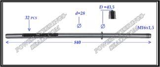 694.PS23 Rack (steering rack shaft) VOLVO XC 90 I