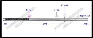 {:en}704.PS24 Rack (steering rack shaft) VOLKSWAGEN TRANSPORTER T5,MULTIVAN